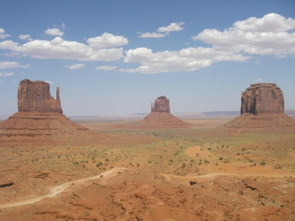 Monument Valley - The Mittens.