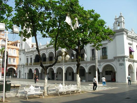 Zocalo in Veracruz.