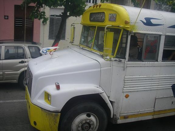 Bunter Bus.