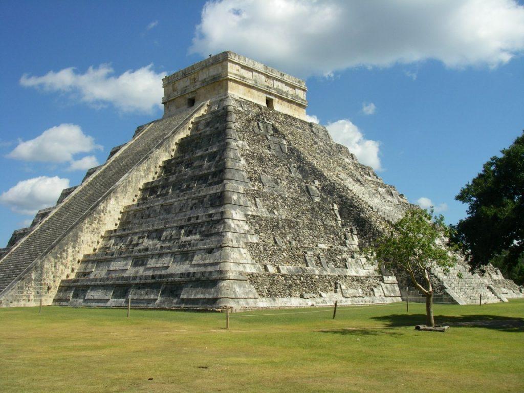Die Pyramide von Chichen Itza.