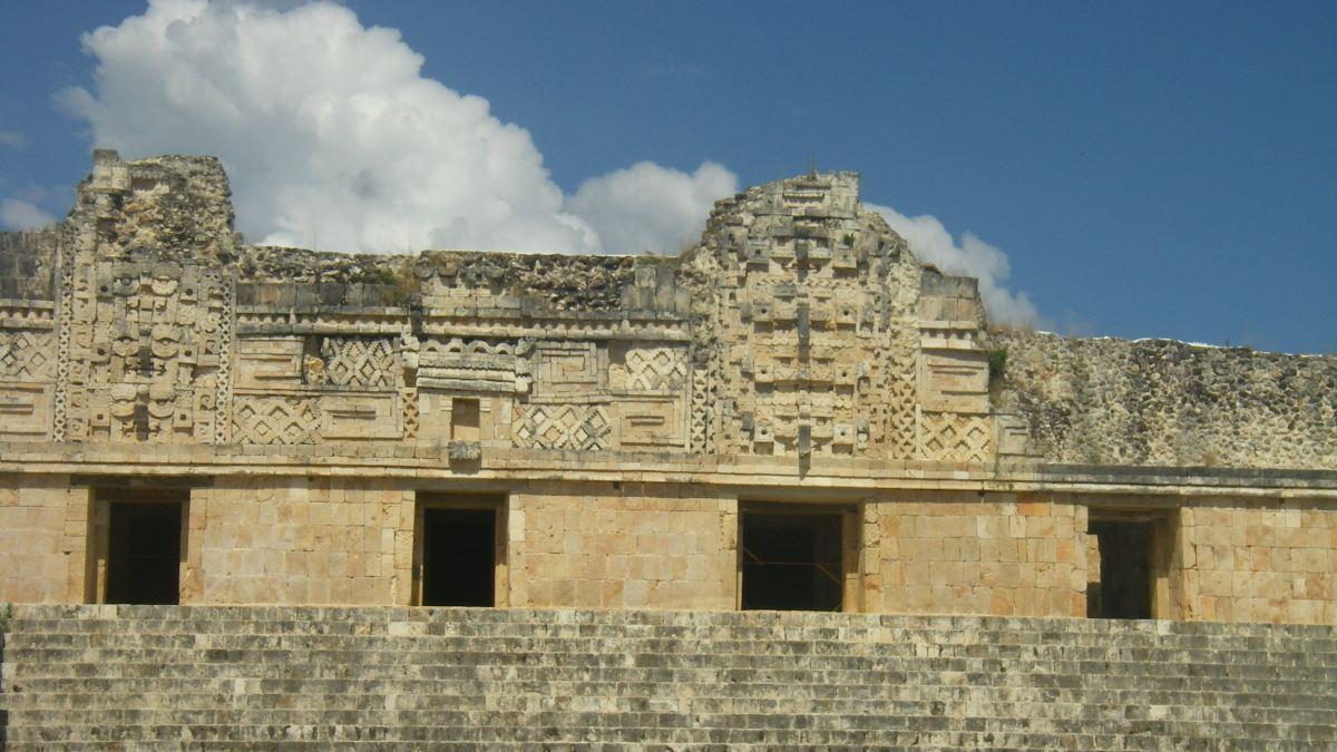 Maya-Tempel in Mexiko.