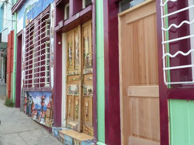 Valparaiso bunte Häuser
