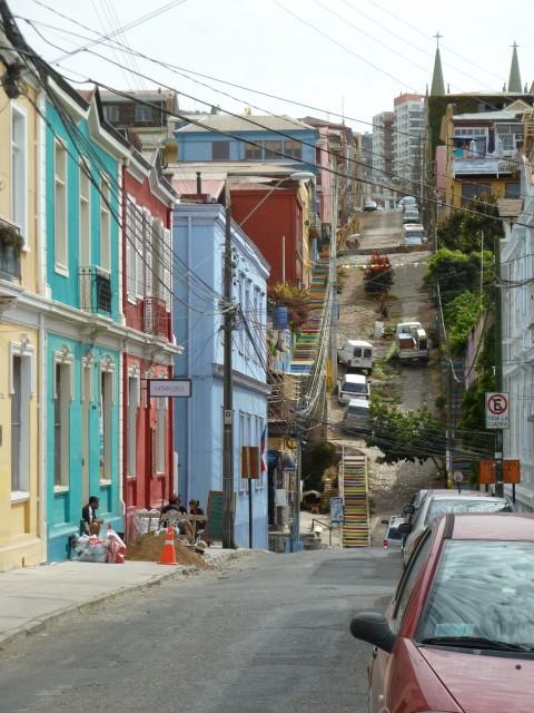 Valparaiso Straßen
