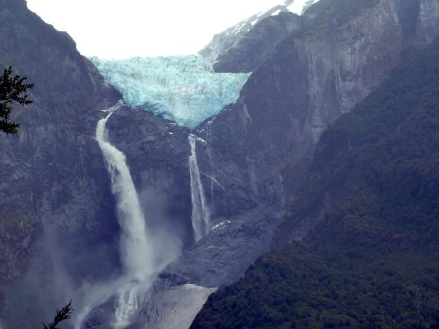 Ventisquero Colgante - der Hängende Gletscher