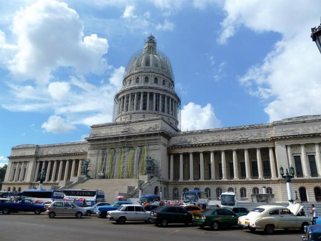 Wegen Renovierung geschlossen: das Capitolio