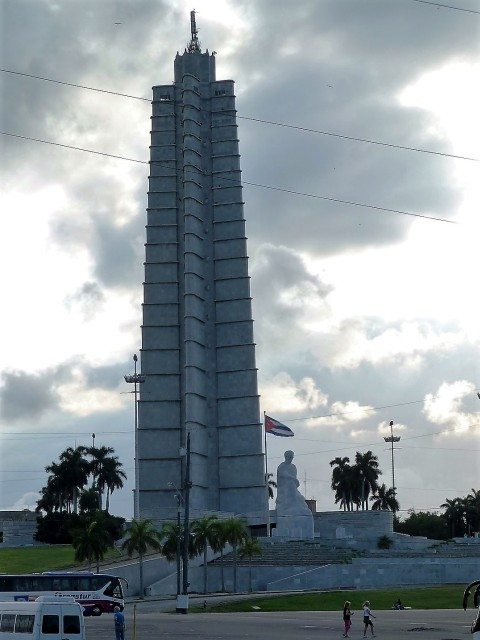 Plaza de la Revolución - sozialistischer Gigantismus