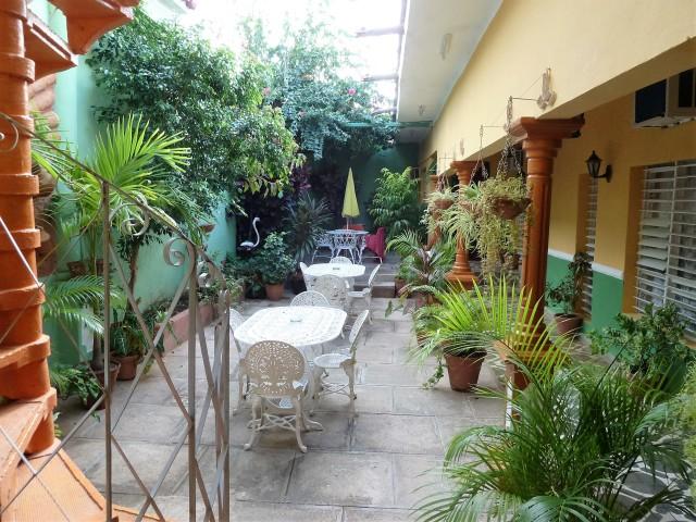 Trinidad Casa particular Innenhof
