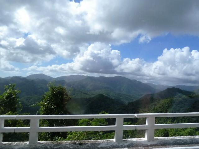 Baracoa STraße Berge