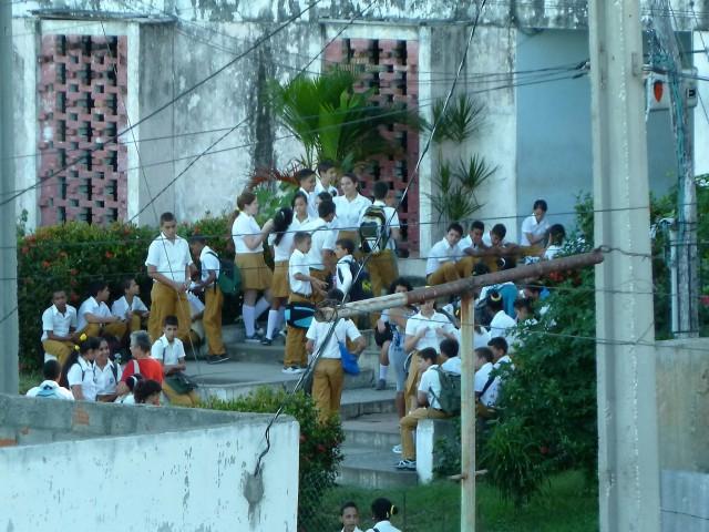 Schüler in Cienfuegos
