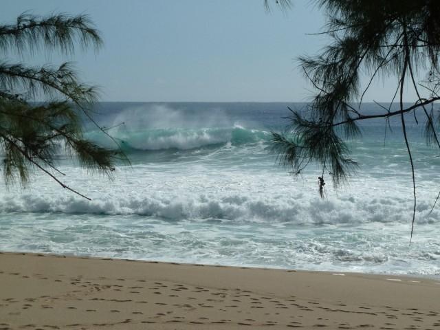 Strand an der Westküste von La Reunion.