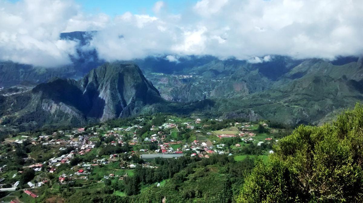 Berglandschaft auf La Reunion.
