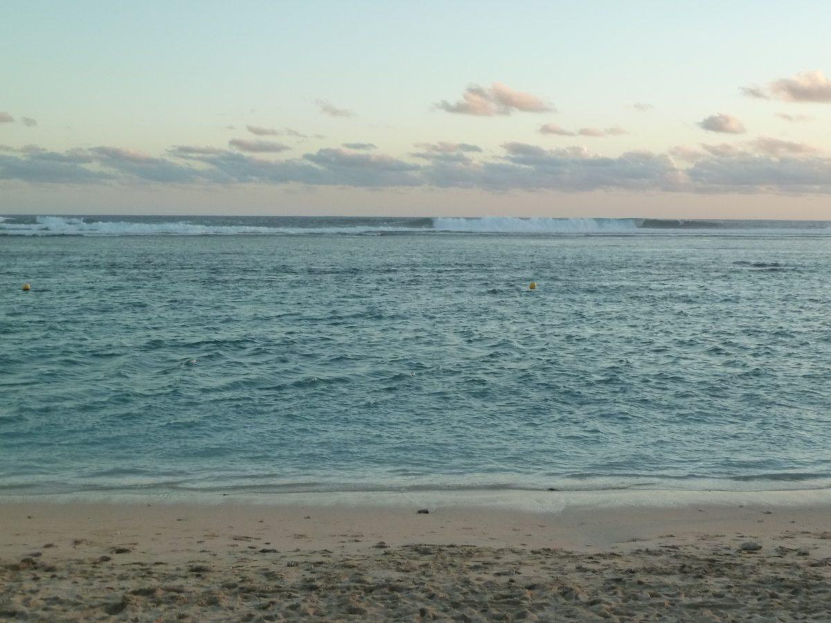 Strand und Meer.