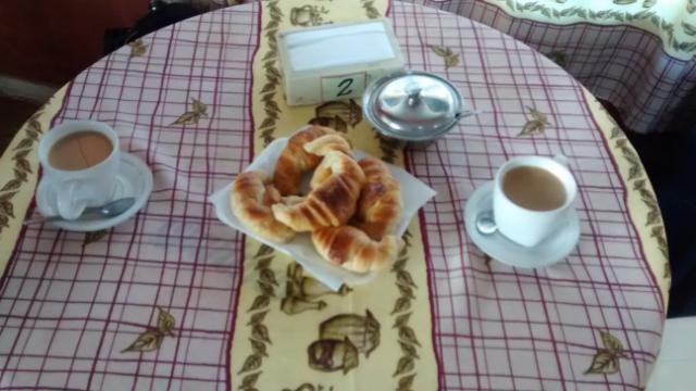 Argentinisch frühstücken, lecker!