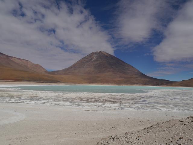 Laguna Verde - eine von vielen Lagunen des Altiplano