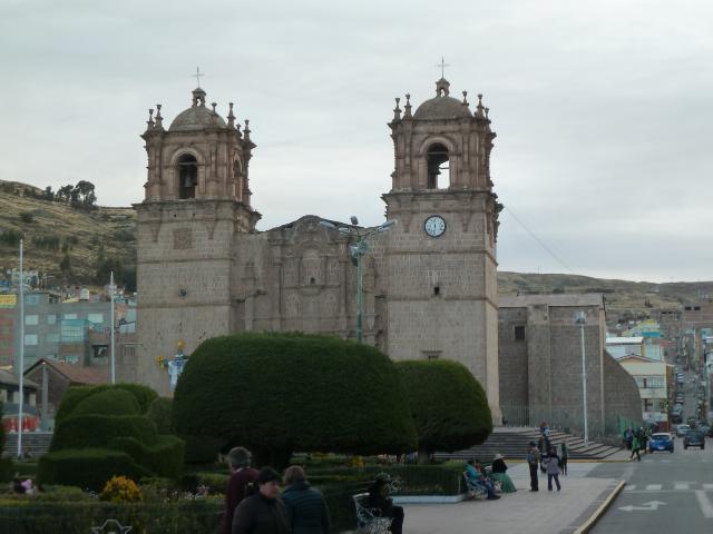 Kathedrale von Puno - mehr haben wir nicht gesehen