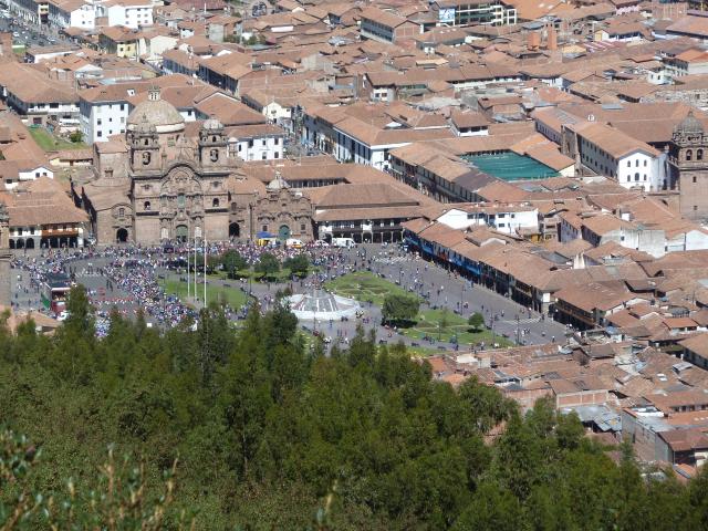 Plaza Mayor von oben
