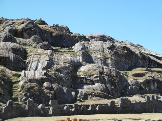 Glatte Felsen sind doch viel schöner, dachten sich die Inka