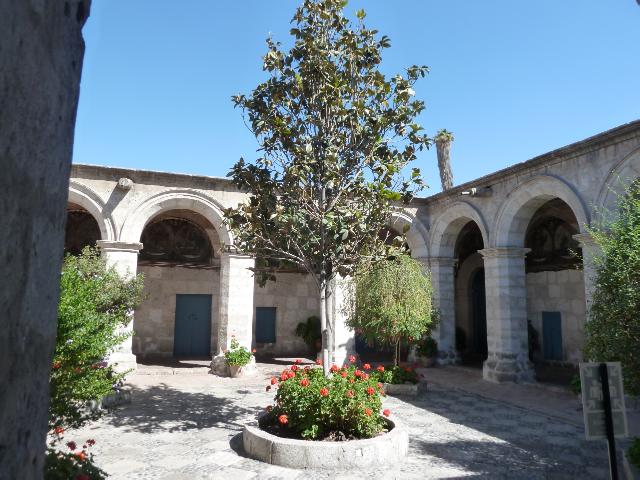 Noch ein Klosterhof