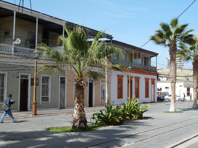Fußgängerzone Baquedano in Iquique.