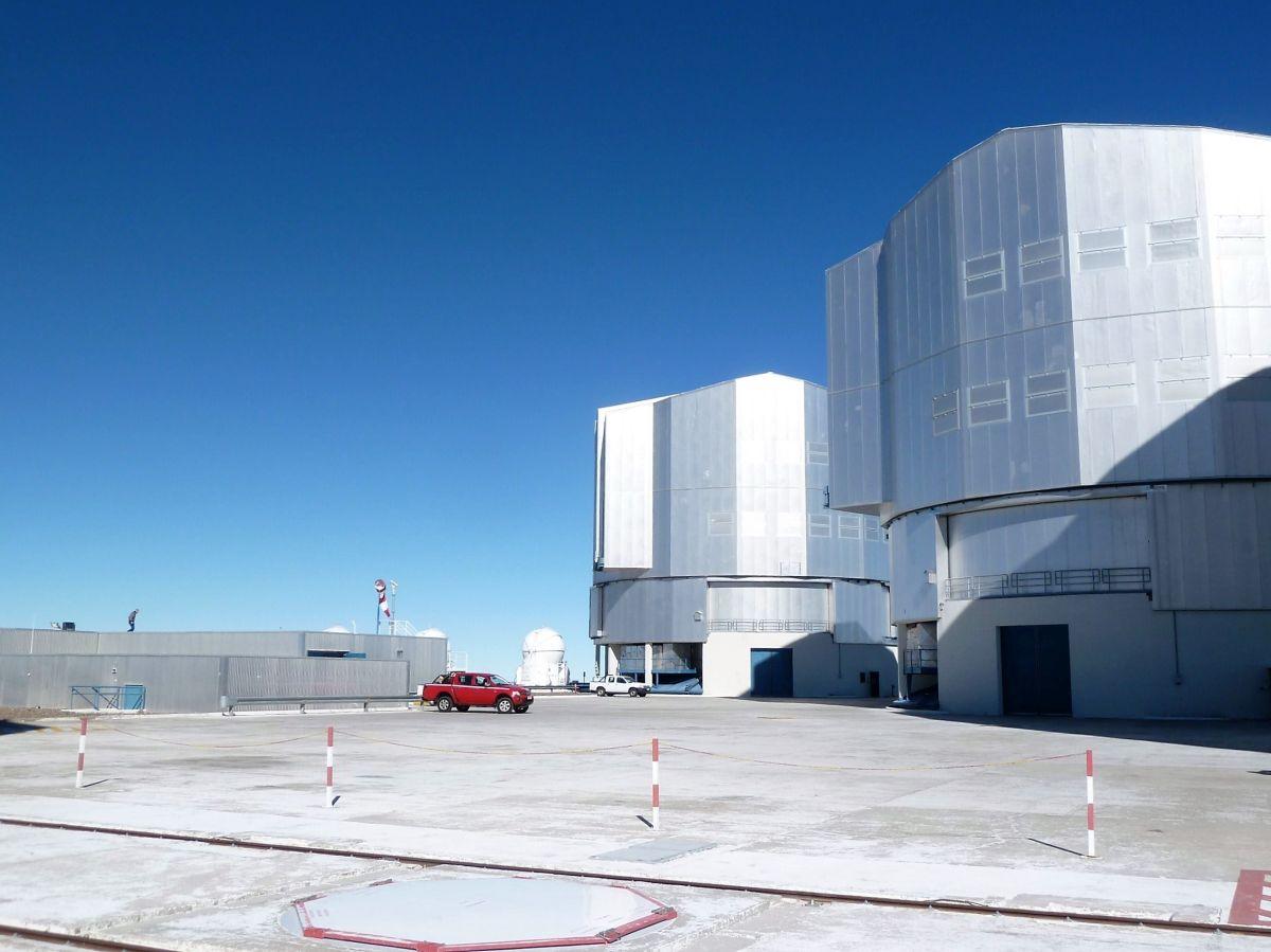 Die Anlage des Observatoriums