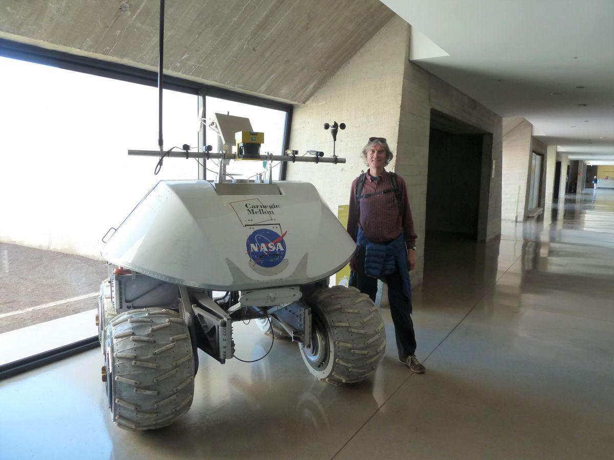 Marcus und der Marsroboter