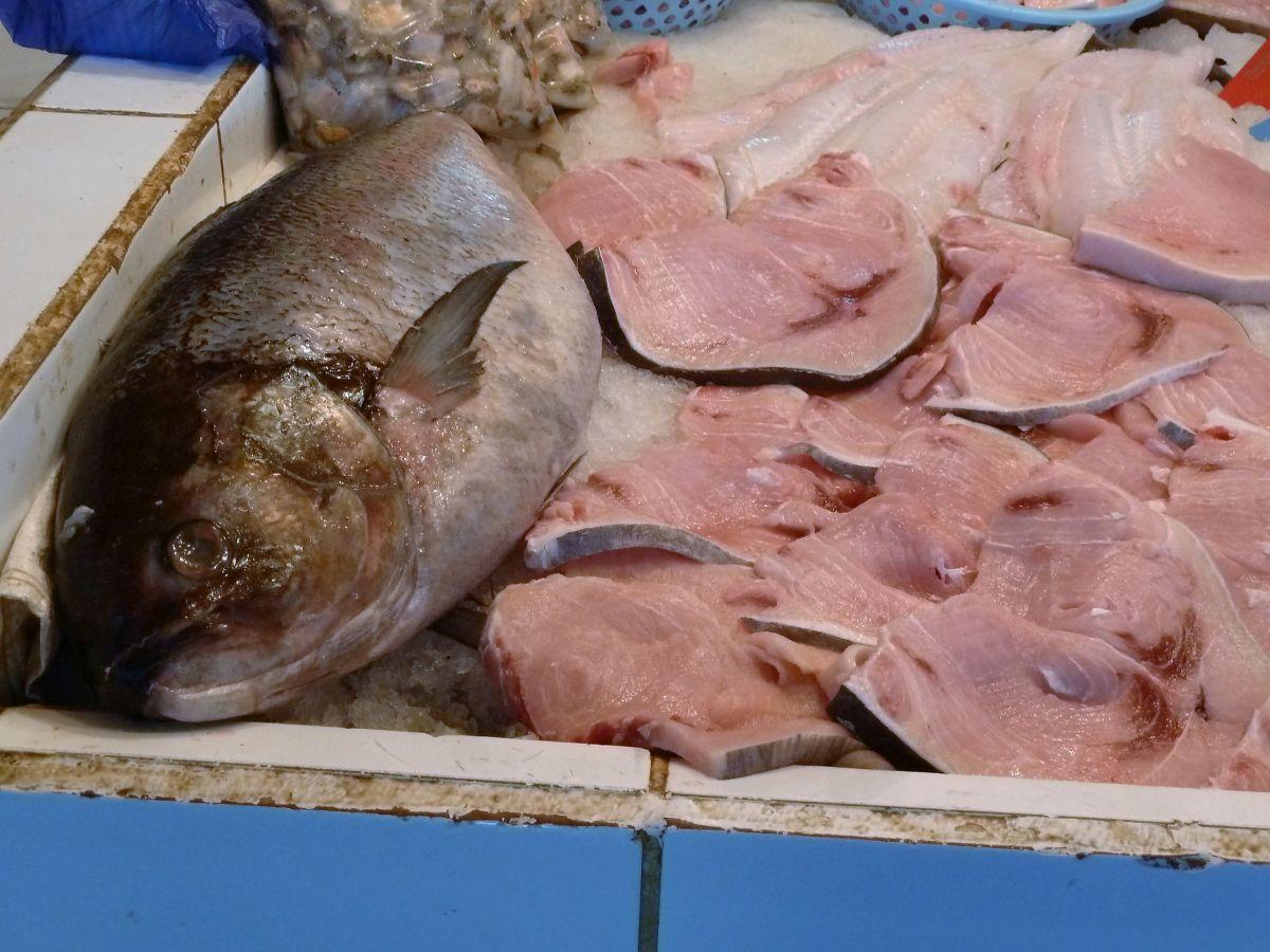 Fische auf dem Markt