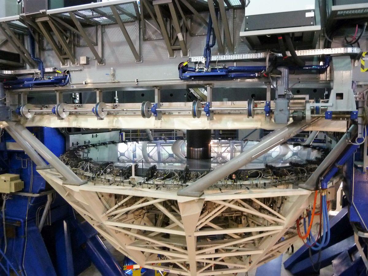 Spiegel des Teleskops