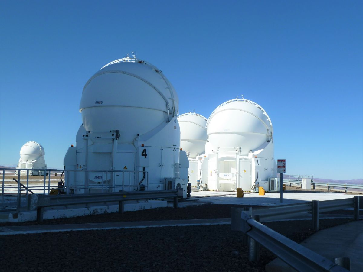 Kleine Spiegel des Paranal-Observatoriums