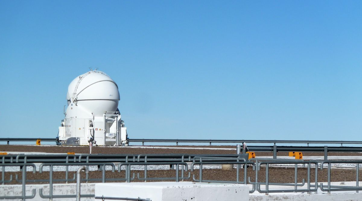 Das Paranal-Observatorium bei Antofagasta