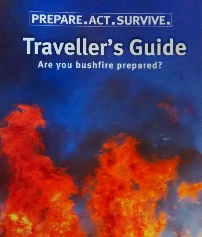 Infobroschüre für den Touristen. Man sorgt für uns ;-)
