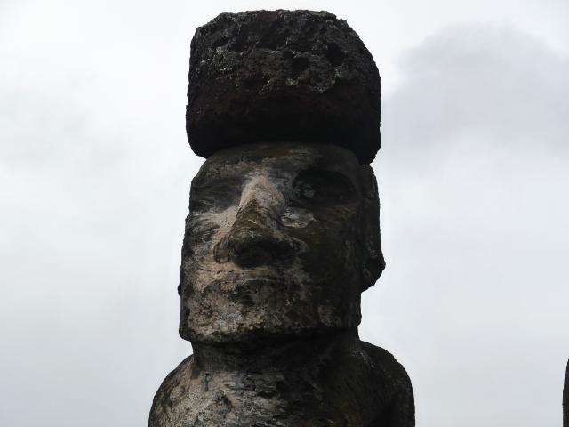 Moai des Ahu Tongariki