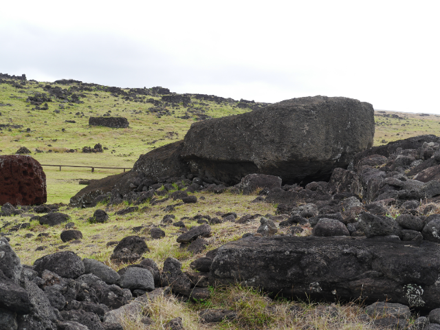 Osterinsel der letzte Moai