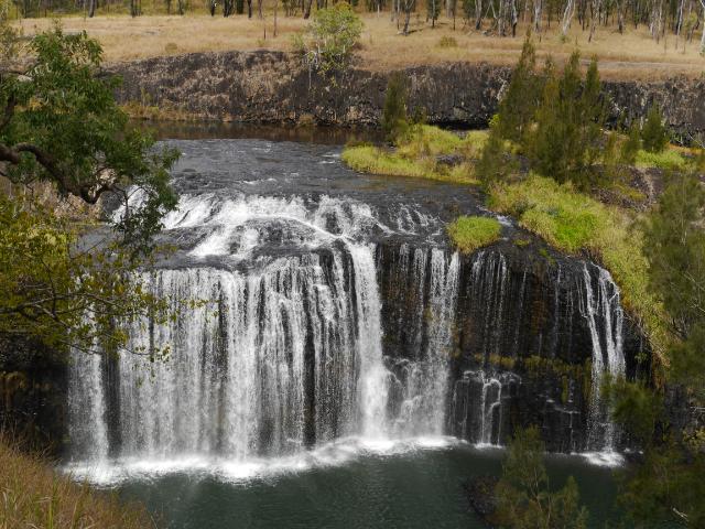 Millstream Falls, sozusagen das Iguazú Australiens
