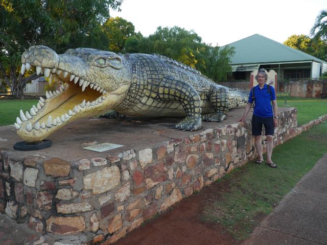 8,63 Meter soll das Kroko lang gewesen sein!