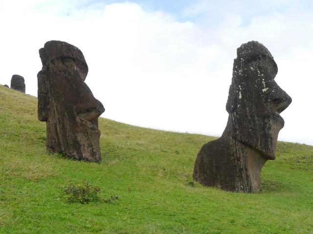 Wo ein Moai steht, ist der nächste nicht weit