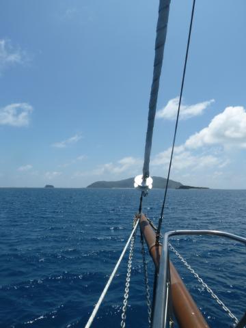 Insel in Sicht!
