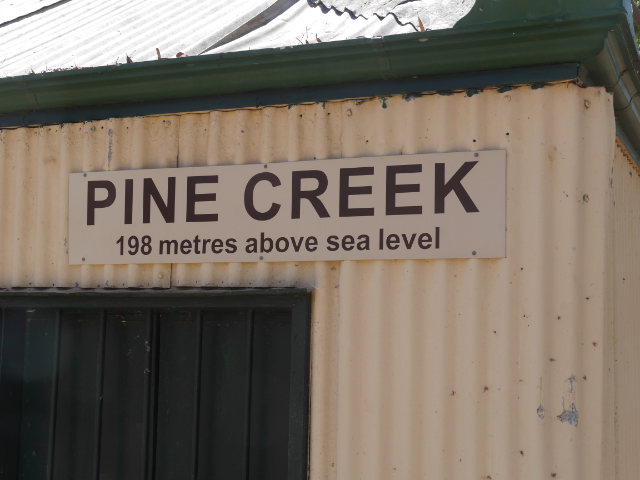 Pine Creek Railway Station - ein Museum
