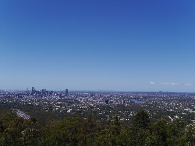 Ausblick auf Brisbane.