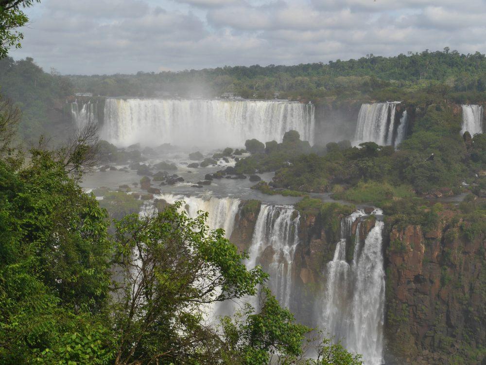 Iguazu-Fälle in Argentinien.
