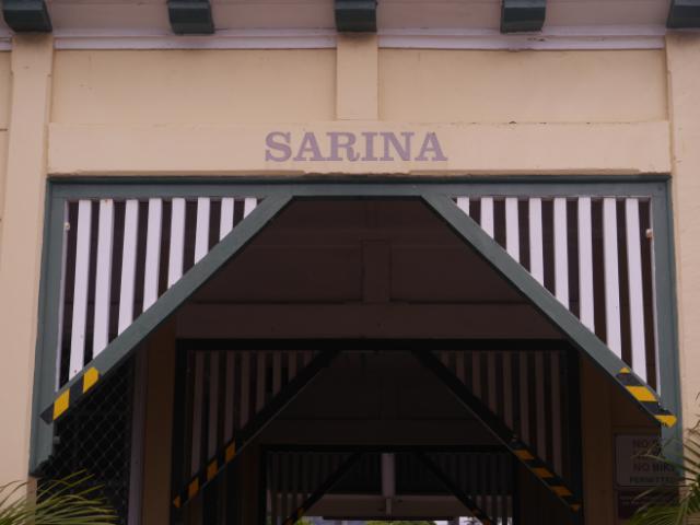 Alter Bahnhof von Sarina.