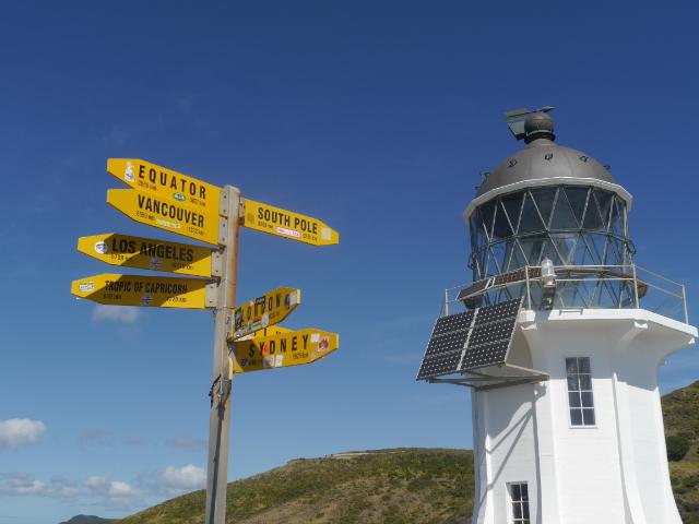Der Leuchtturm am Cape Reinga
