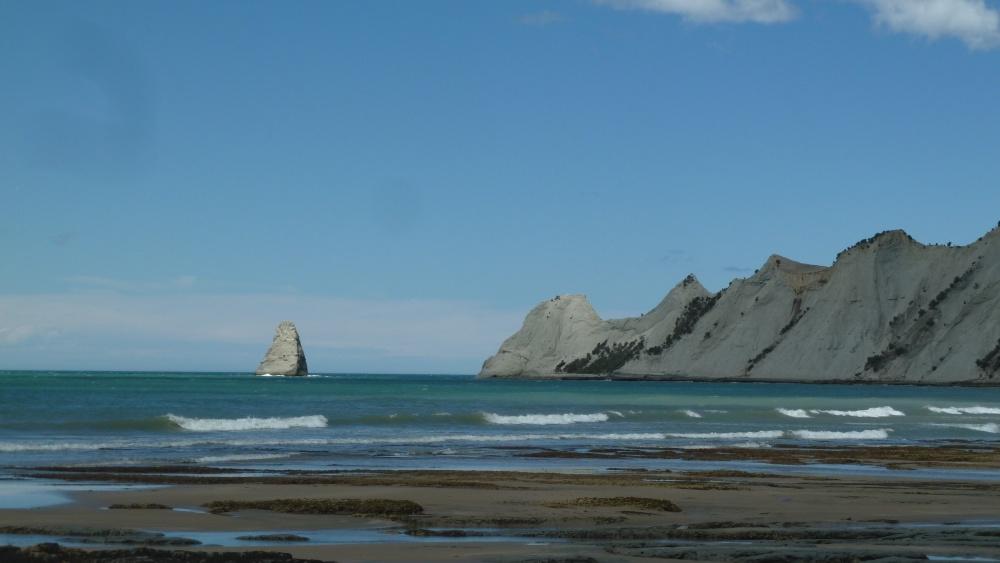 Küste vor Cape Kidnappers.