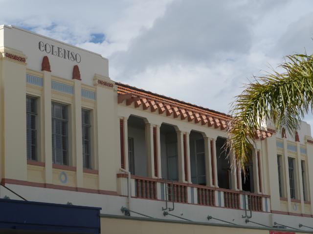 Ein weiteres Beispiel für Art Deco in Napier.