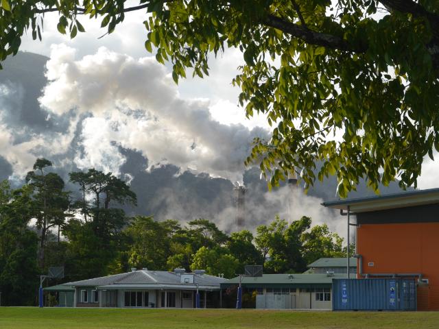 Zuckermühle in Coastal Queensland