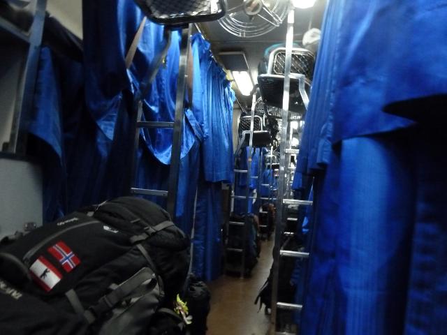 Schlafwagen nach Chiang Mai