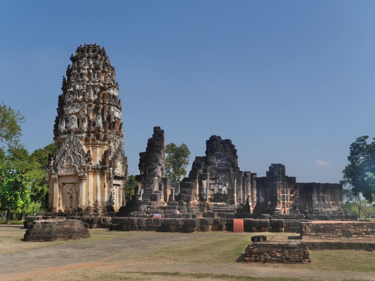 Prang im Khmer-Stil.