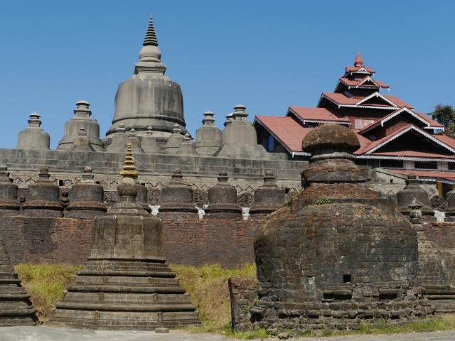 graue Tempelkuppen