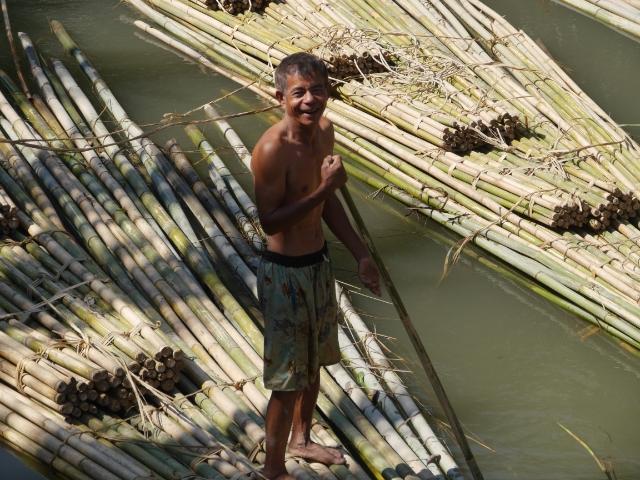 Bambusflößer