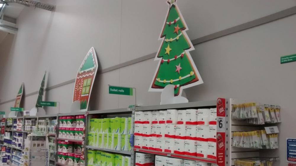Supermarkt in Neuseeland.