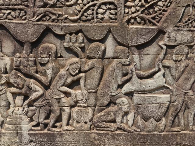 Angkor Wat Bayon Reliefs